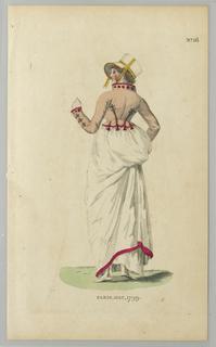 Dress with Spencer jacket from Londom Magazine, 1799.