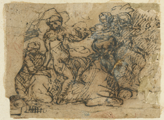 Drawing, Sheet from a Sketchbook, ca. 1664