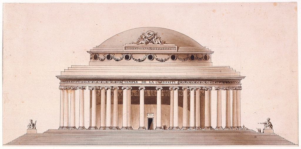 Drawing, Temple of Curiosity