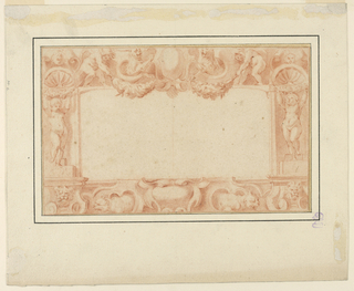 Drawing, Design for a Frame