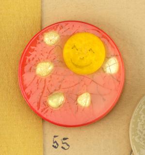 """""""April Showers"""" Button, 1943"""