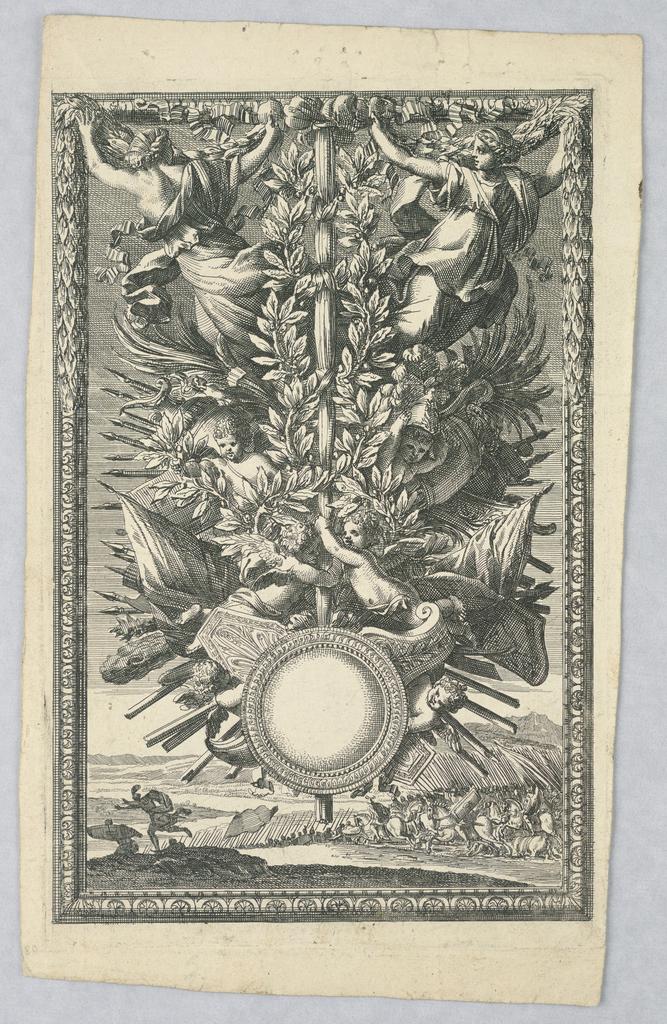 Print, Trophy, ca. 1660