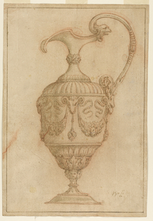 Drawing, PITCHER