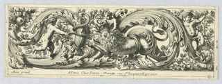 "Print, Frieze, from ""Chasses et Feuillages"", 1663"