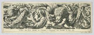 Print, Frieze, 1663