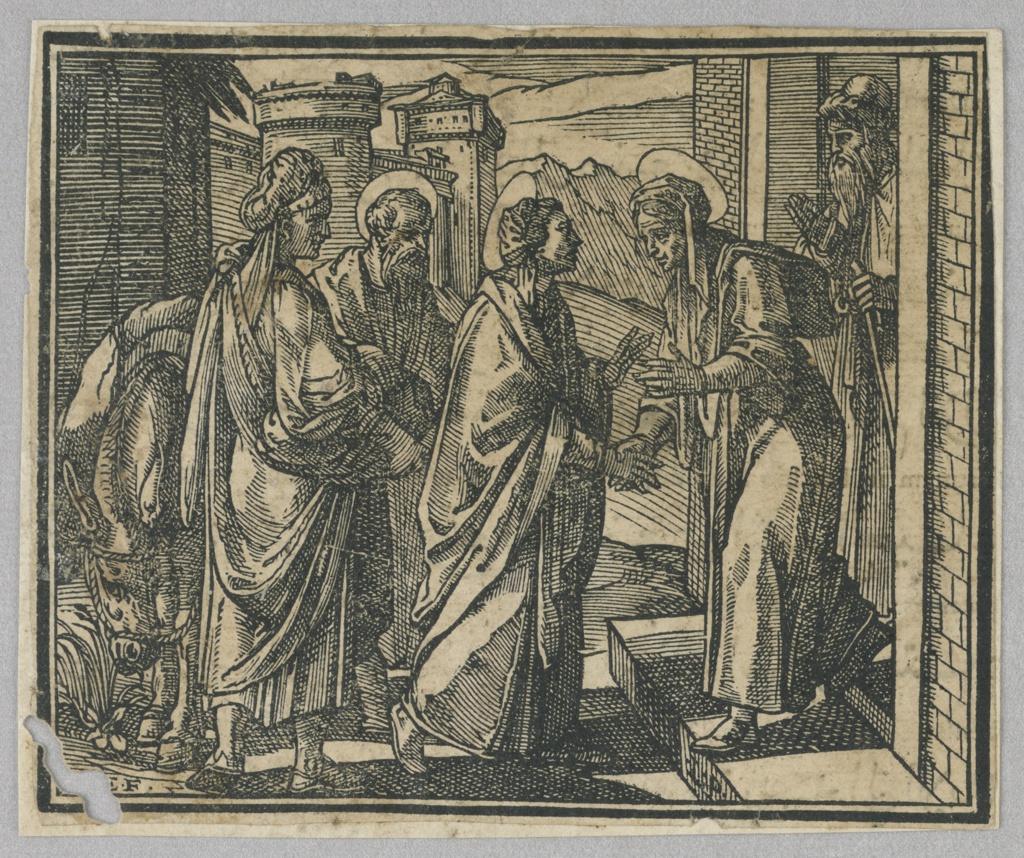 Print, The Visitation, 1591