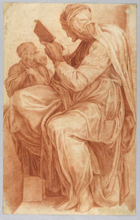 The Persian Sibyl. after Michelangelo