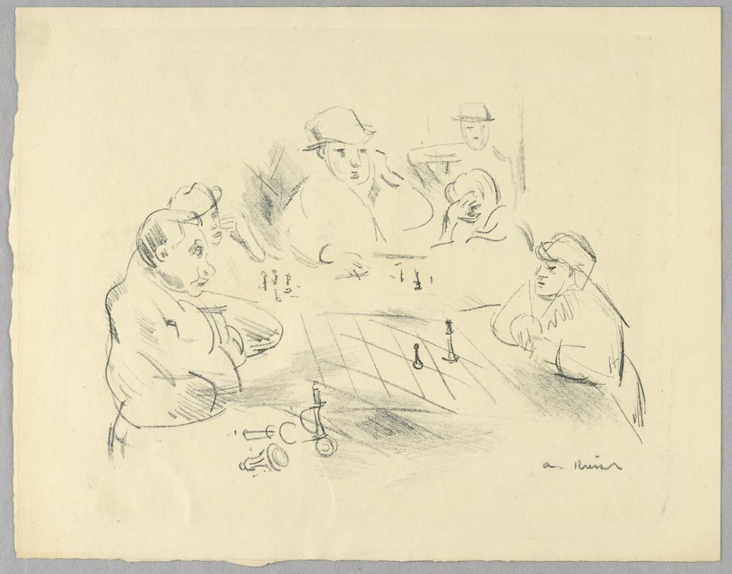 Print, Chess Players