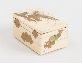 Box And Cover, ca. 1830