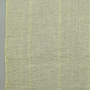 Gauze-like drapery fabric in off-white.