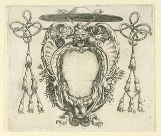 Print, A Prelate's Escutcheon