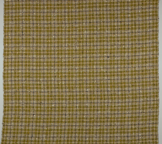 Reversible woven wool plaid
