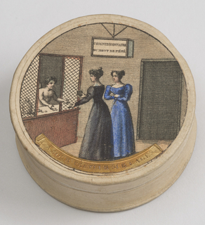 Pastille Box And Cover