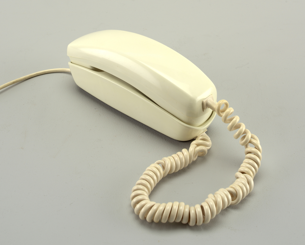 Trimline phone with Touchtone handset.
