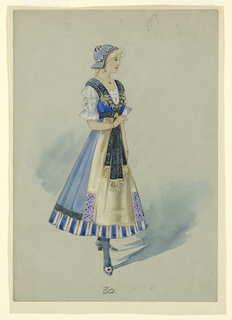Drawing, Costume Design: Dear Little Denmark