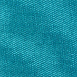 Plain weave in turquoise.