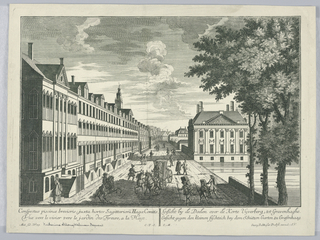 Print, Peep-show, View of the Pond Near the Shooting Garden in the Hague
