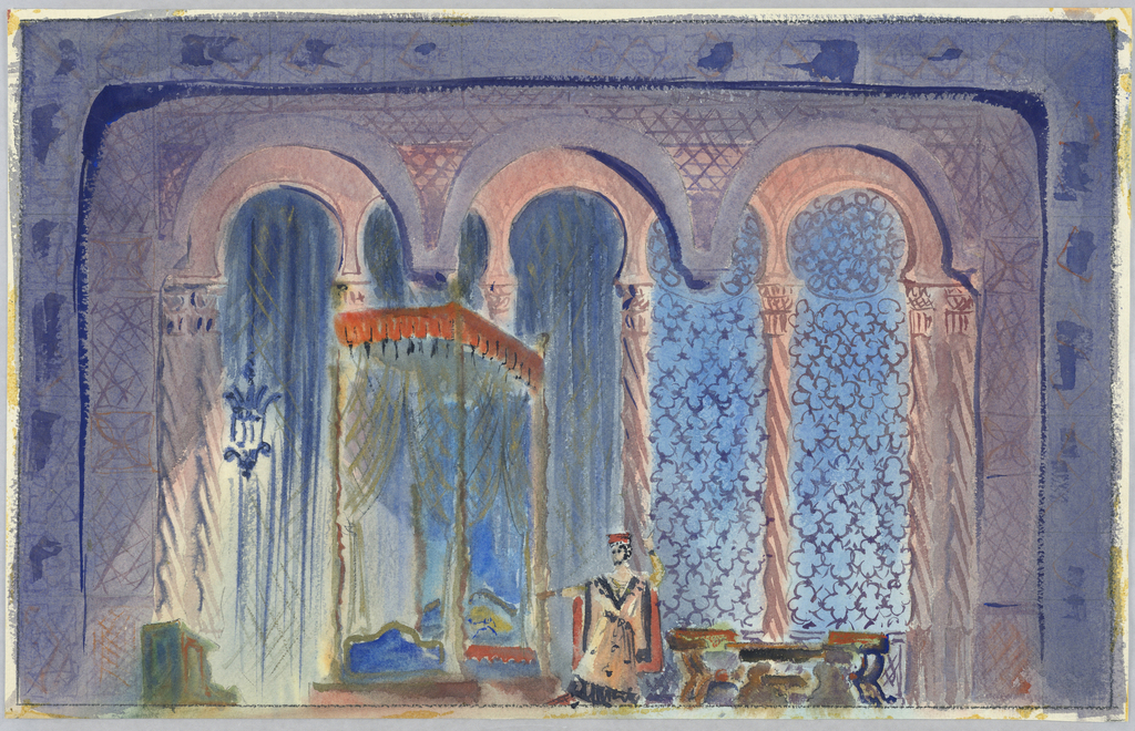 Drawing, Stage Design: Othello