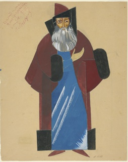 Drawing, Costume Design for a Boyar