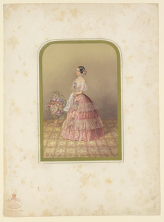 Print, Jeffrey Treffz, 1850