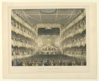 Print, Covent Garden Theatre, Interior, 1808