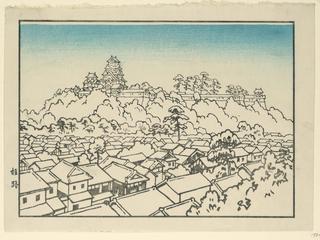 Print. Castle Of Hioneji