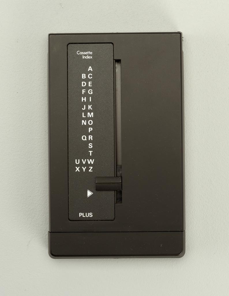 Cassette Desktop Telephone Index