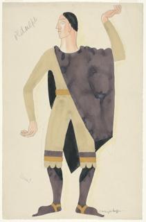 "Drawing, Costume Design: Ordulph, for ""Henry IV"""