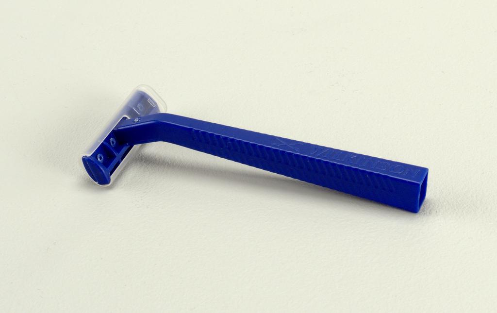 blue; rectangular blade cover