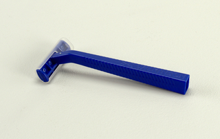 blue; rectangular blade cover
