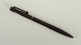 Parafernalia Graphic Ball Pen, black barrel Pen, 1986