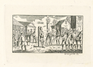 "Print, Illustration for ""Roman Military Punishment"" by John Beaver"