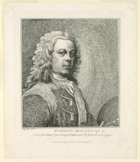 Print, Portrait of William Hogarth