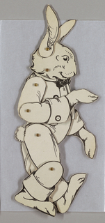 Jointed Storybook Animal, Br'er Rabbit