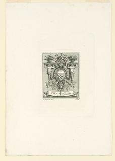 Print, Ellis Gamble's Book Plate