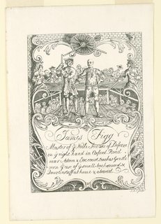 Print, Ticket for James Figg