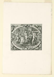 Print, Richard Lee's Shop Card