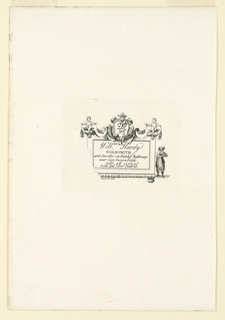 Print, William Hardy's Shop Card