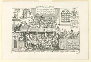 Print, Oratory Chapel