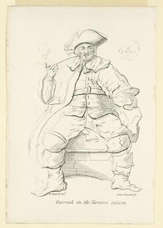 "Print, Garrick in the ""Farmer's Return"""