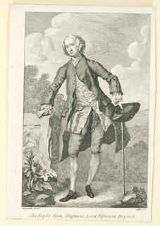 Print, The Right Hon. Gustavus Lord Viscount Boyne & C
