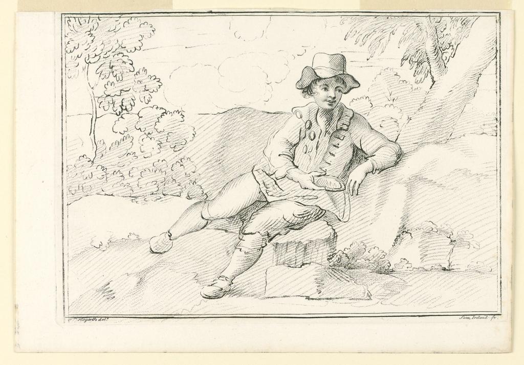 Print, The Sheperd Boy