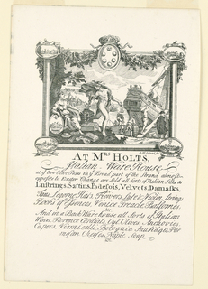 Print, Mrs. Holt's Shop Card
