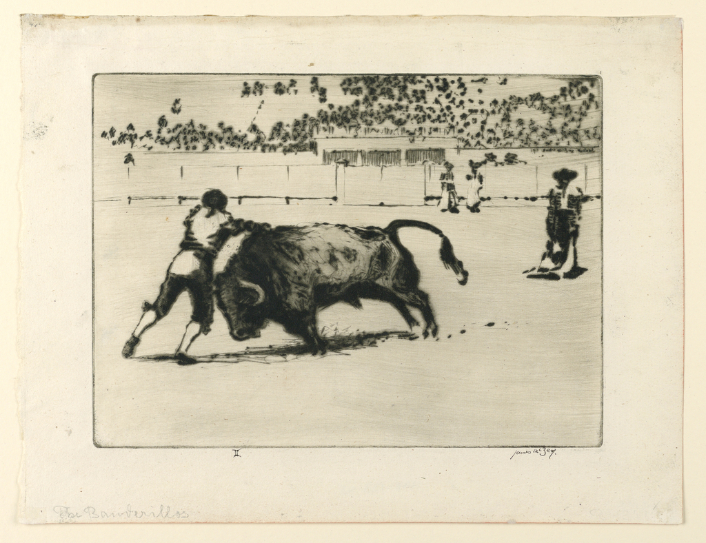 Print, The Banderillas, 1912