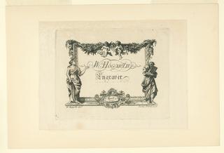 Print, Hogarth's Shop Card