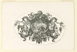 Print, Ornamental Design for the Decoration of a Tankard