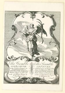 Print, Ellis Gamble's Shop Card