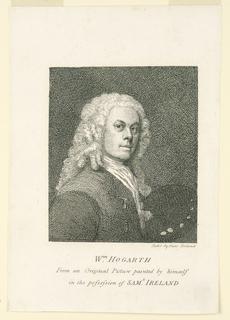 Print, Self Portrait of William Hogarth