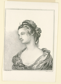 Print, Head of Diana