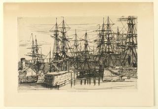 Print, Draham Harbour
